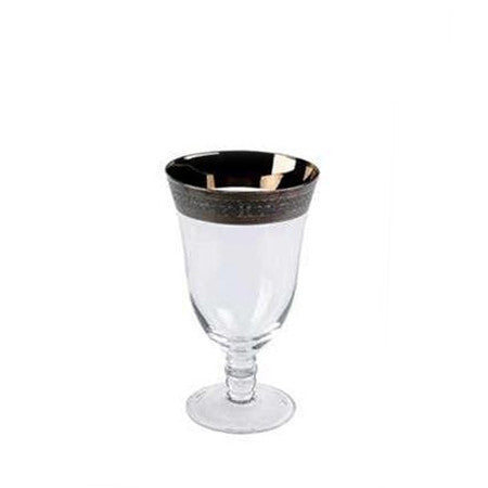 Magnificent Silver Water Glass - 14oz