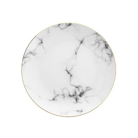 "Marble 8"" Coupe Salad Plate"