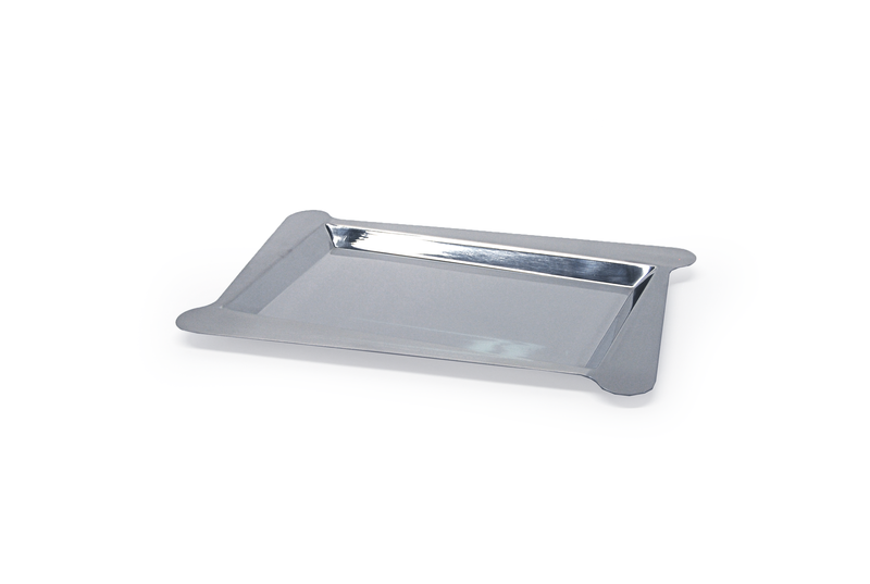 "Mod Stainless Steel Angle Tray 12"" x 18"""