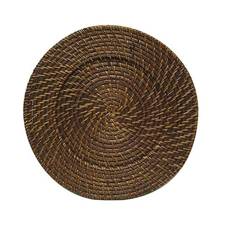 Brown Rattan Charger 13