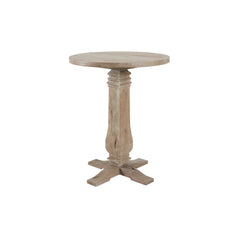 "Rustico 33"" Round Hi-Top Table Distressed Grey (42"" Tall)"