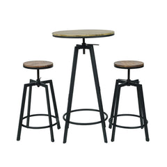 "Swivel Cocktail Table - 24"" round"