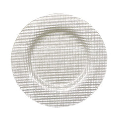 Fabric Charger, White 13""