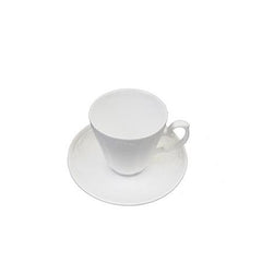White Lace Cup and Saucer