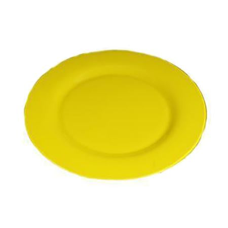 "Yellow Glass Charger 13"" - Chargers"