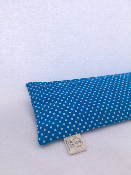 Morpheus - Eye Pillow in Blue/Polka Dots