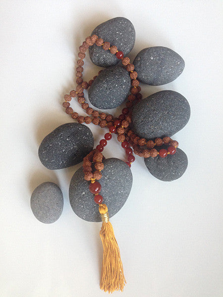 You are Alive - Carnelian Mala