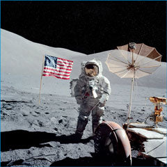 US Flag Apollo 17