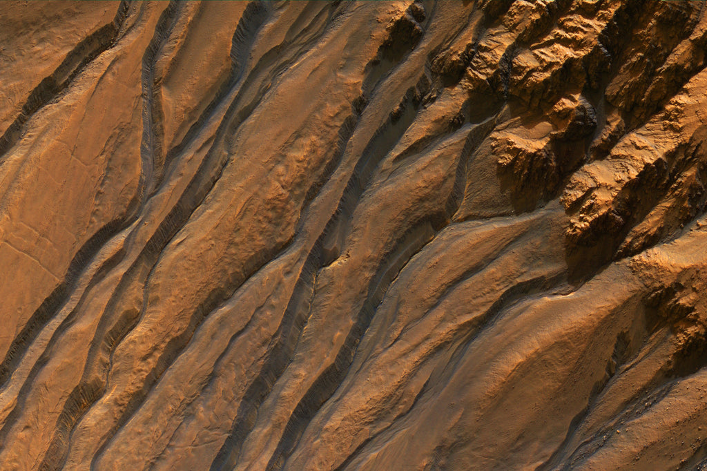 Mars - Ancient Gullies