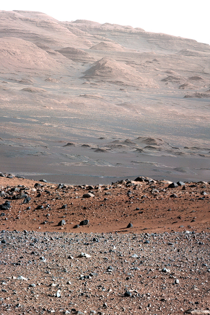 Mars-Curiosity - Mount Sharp Layers