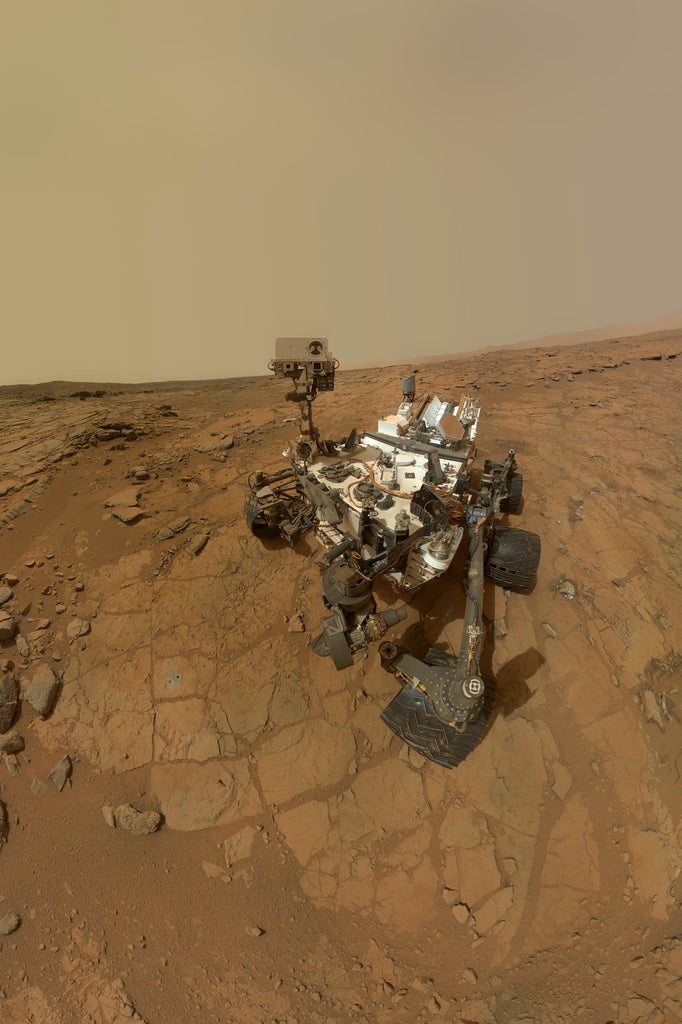 Mars-Curiosity - Self Portrait