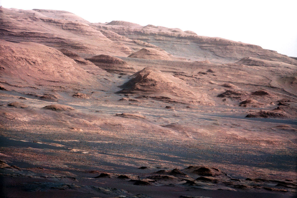 Mars-Curiosity - Mount Sharp Layers II