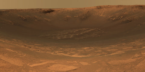 Endurance Crater - Mars Rover Opportunity