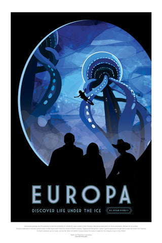 Europa - Life Under The Ice