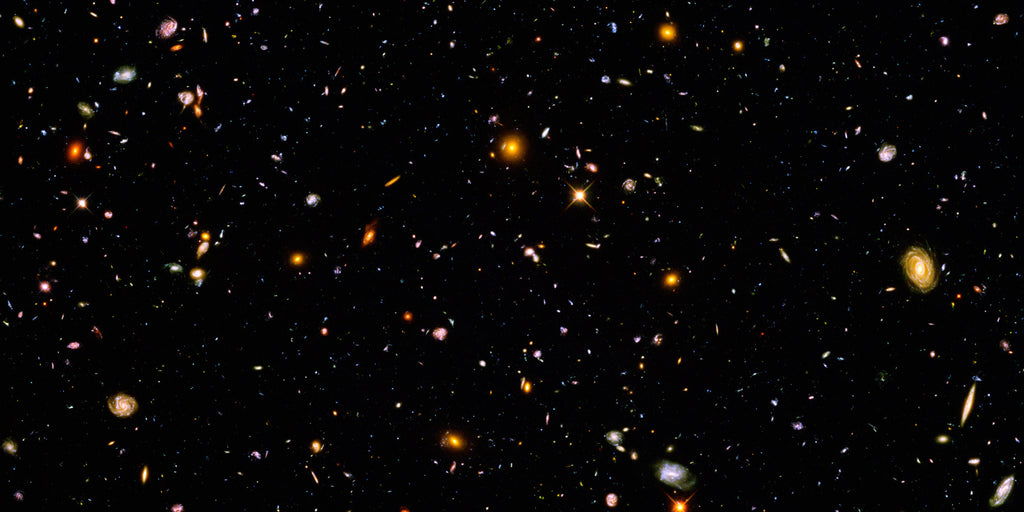 Hubble Ultra Deep Field (Panorama)