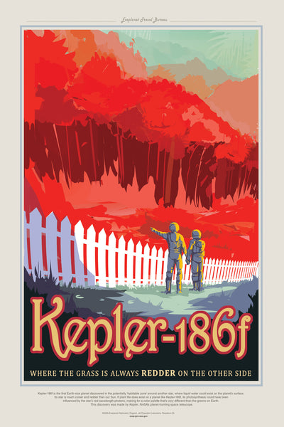Kepler-186f - Red Grass