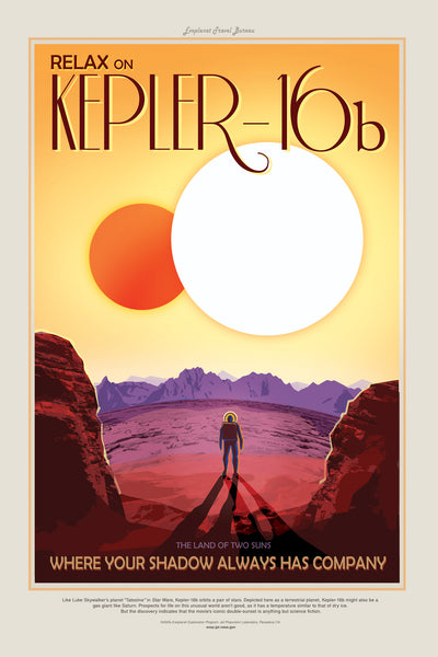 Kepler-16b - Land of Two Suns