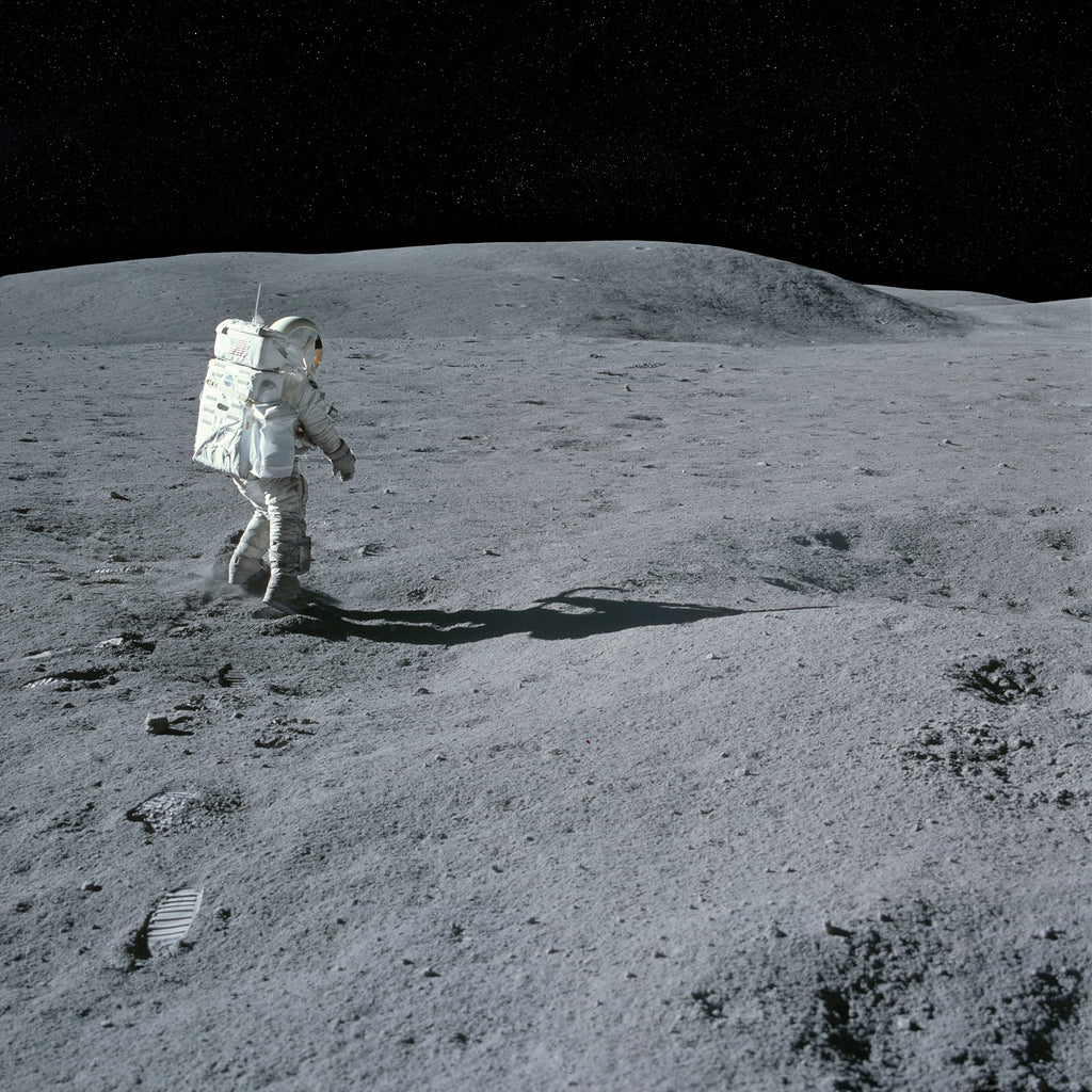 Moon Walk - Apollo 16