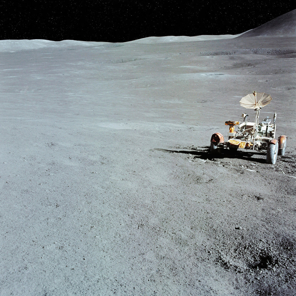 Parked Rover - Apollo 15