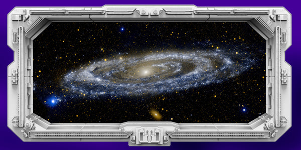 Starship Window - Galaxy Andromeda