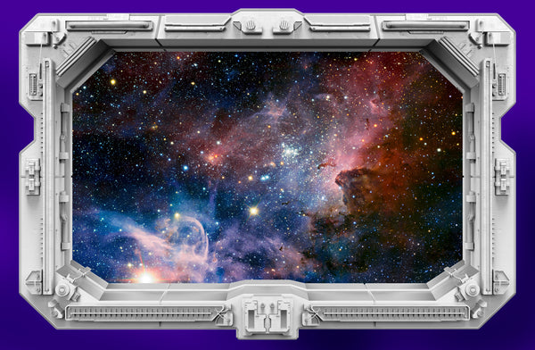 Starship Window - Nebula Carina III