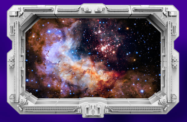 Westerlund 2 Starship Window