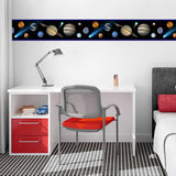 Planets & Comets Wall Border