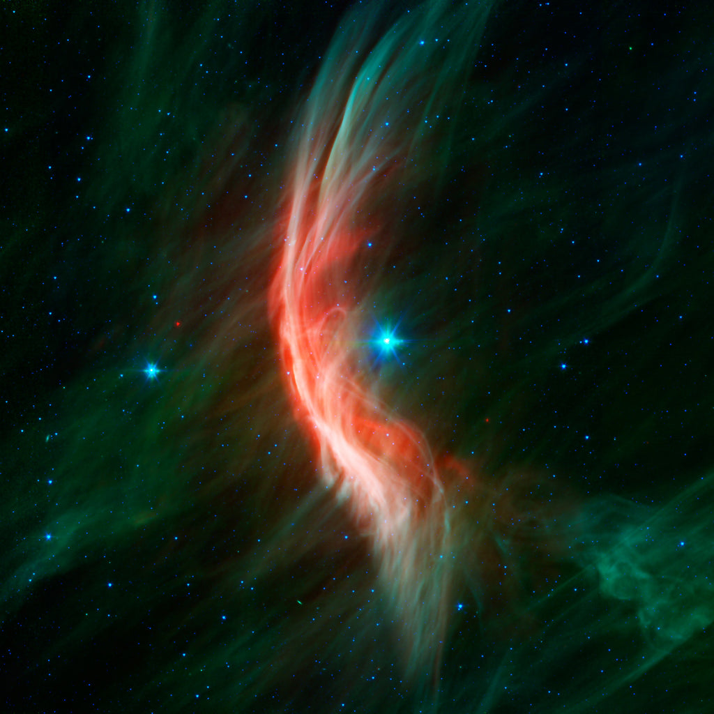 Zeta Ophiuchi Star Waves