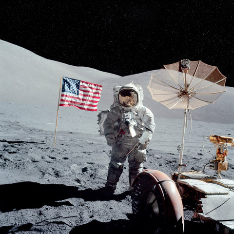 US Flag - Apollo 17