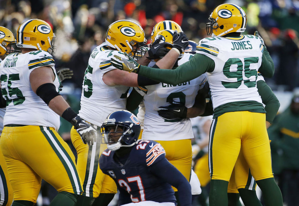 Make It Four Straight: Packers Pull Off Close One in Chi-Town | Eddie Lacy