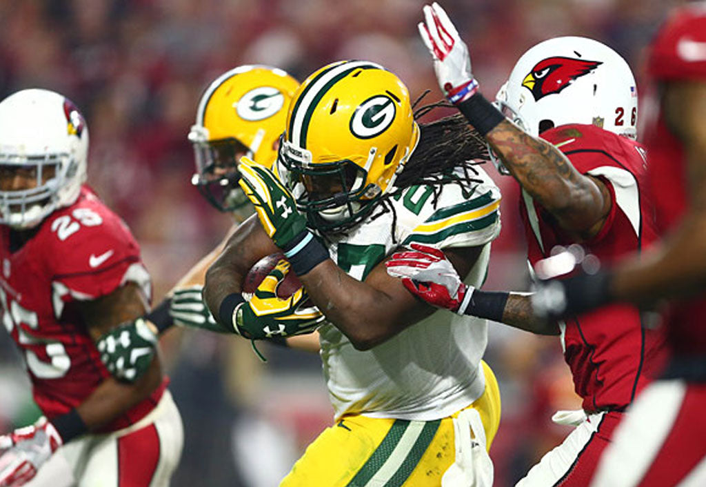 WATCH: Eddie Lacy rumbles to the 2nd-longest run in GB playoff history | Eddie Lacy