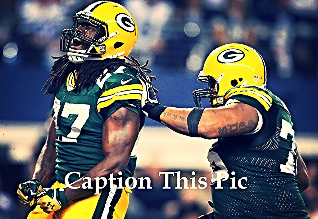 Caption This Pic | Eddie Lacy