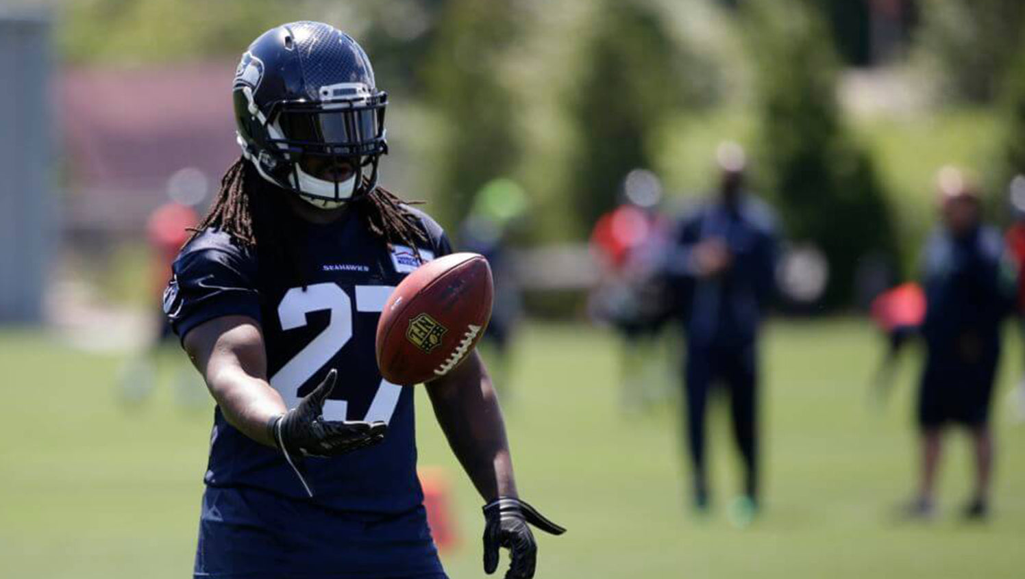 Breaking down the Seahawks running back battle | Eddie Lacy