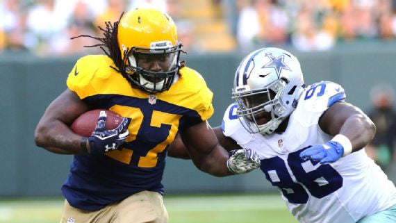 Packers have been 'very vocal about having me back' | Eddie Lacy