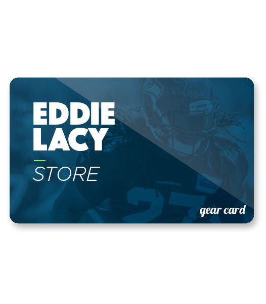 Eddie Lacy 27 Gift Card