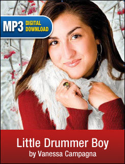 Little Drummer Boy by Vanessa Campagna (mp3 download-single)