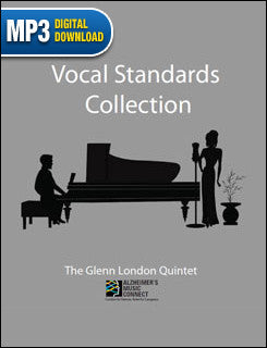 Vocal Standards Collection -- Music for Alzheimer's & Dementia (mp3 download)