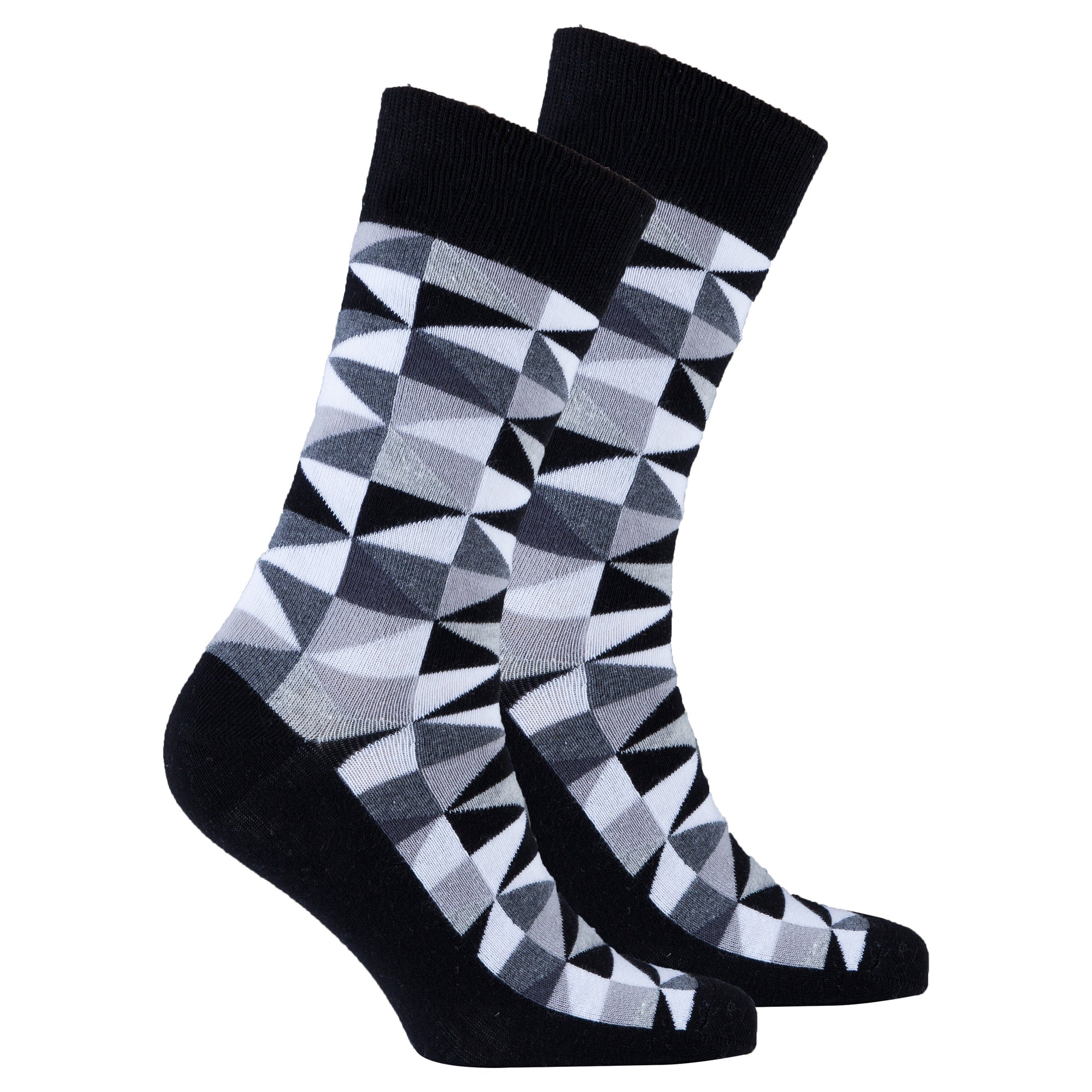 Men's Black Triangle Socks