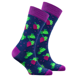 Men's Grape Socks