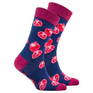 Men's Pomegranate Socks