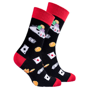 Men's Card Table Socks