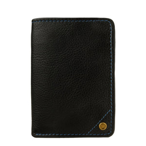 Hidesign Angle Stitch Leather Slim Trifold Wallet Accessories - Wallets & Small Goods Hidesign - Mouse Theory