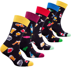 Men's Cocktail Drinks Socks