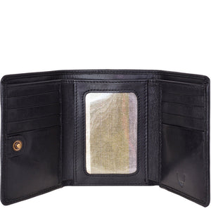 Hidesign Charles Classic Trifold Leather Wallet with ID Window Accessories - Wallets & Small Goods Hidesign - Mouse Theory