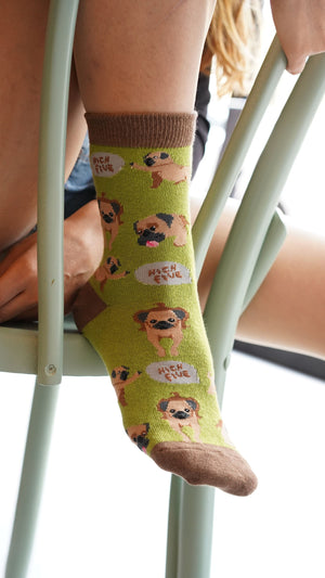 Women's Pug Socks