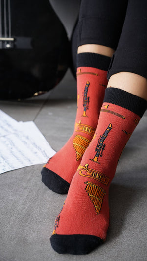 Women's Music Socks Set | 5 Pack