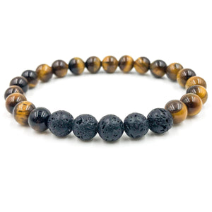 Grove | Lava Rock & Tiger Eye