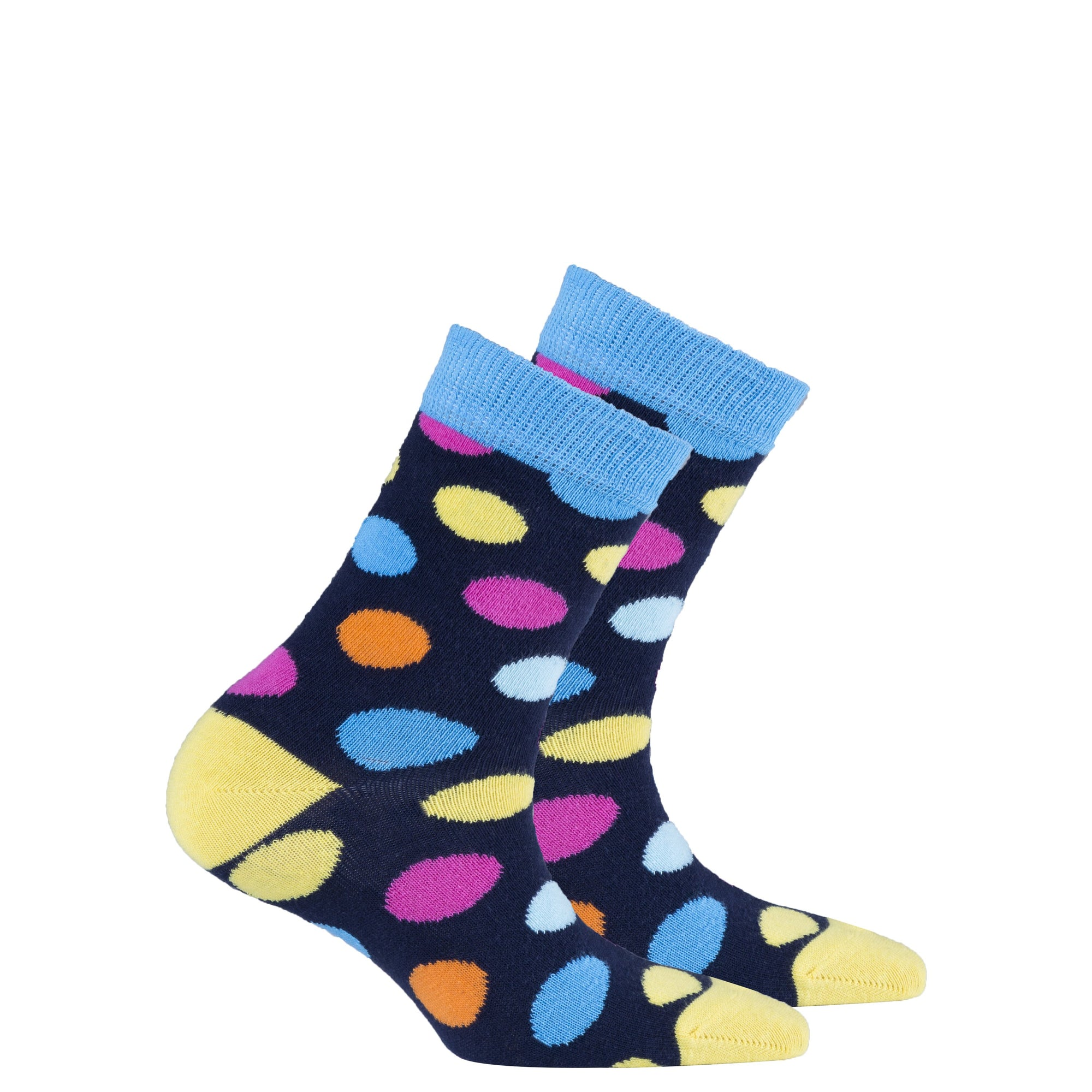 Kids Gold Marine Dot Socks