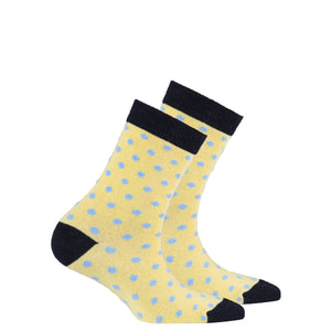 Kids Buttermilk Dot Socks