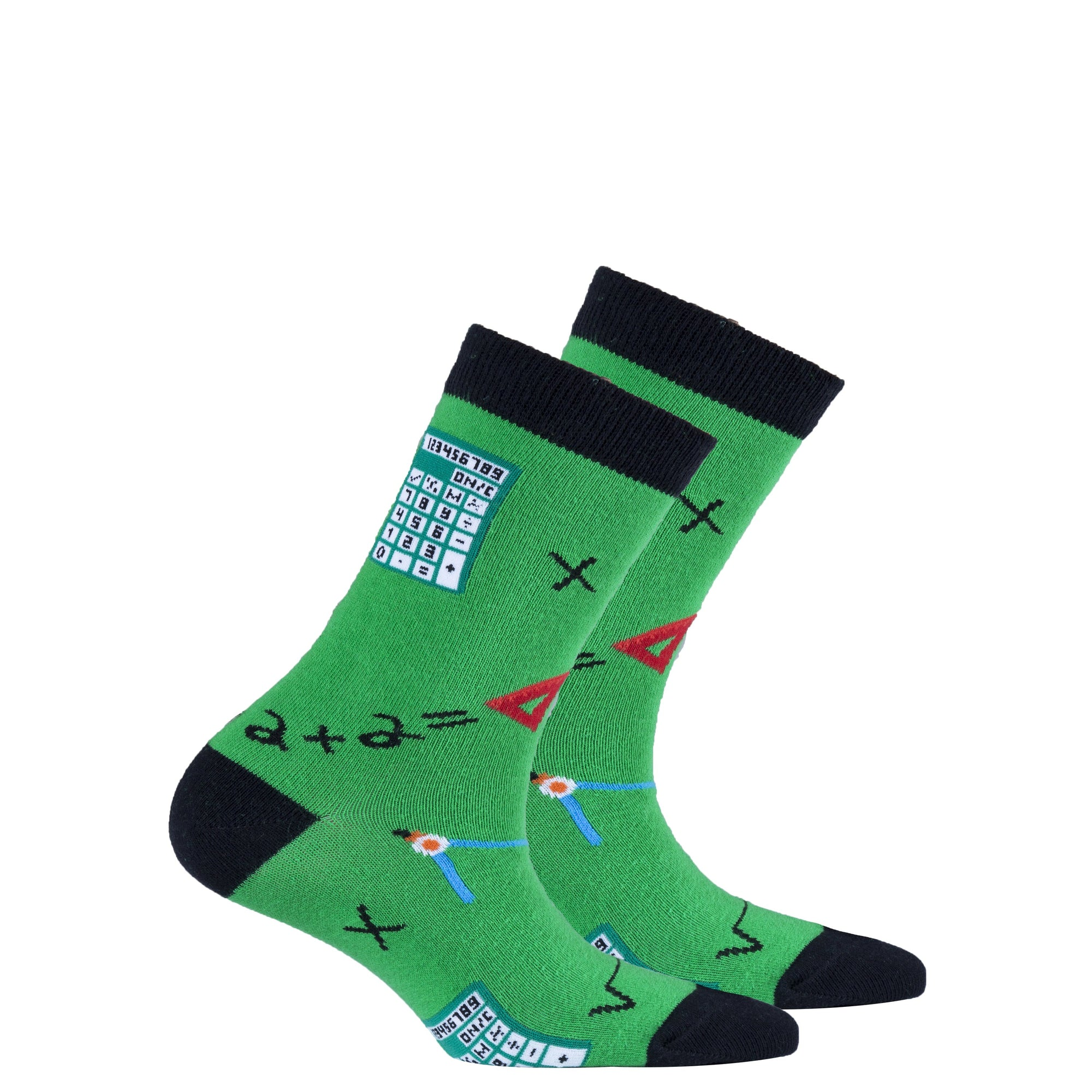 Kids Calculator Socks